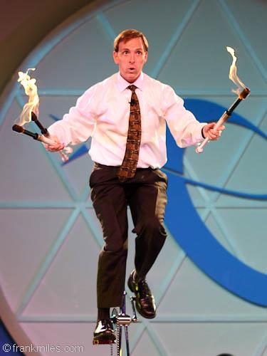Frank Miles, juggler, entertainer, America's Got Talent