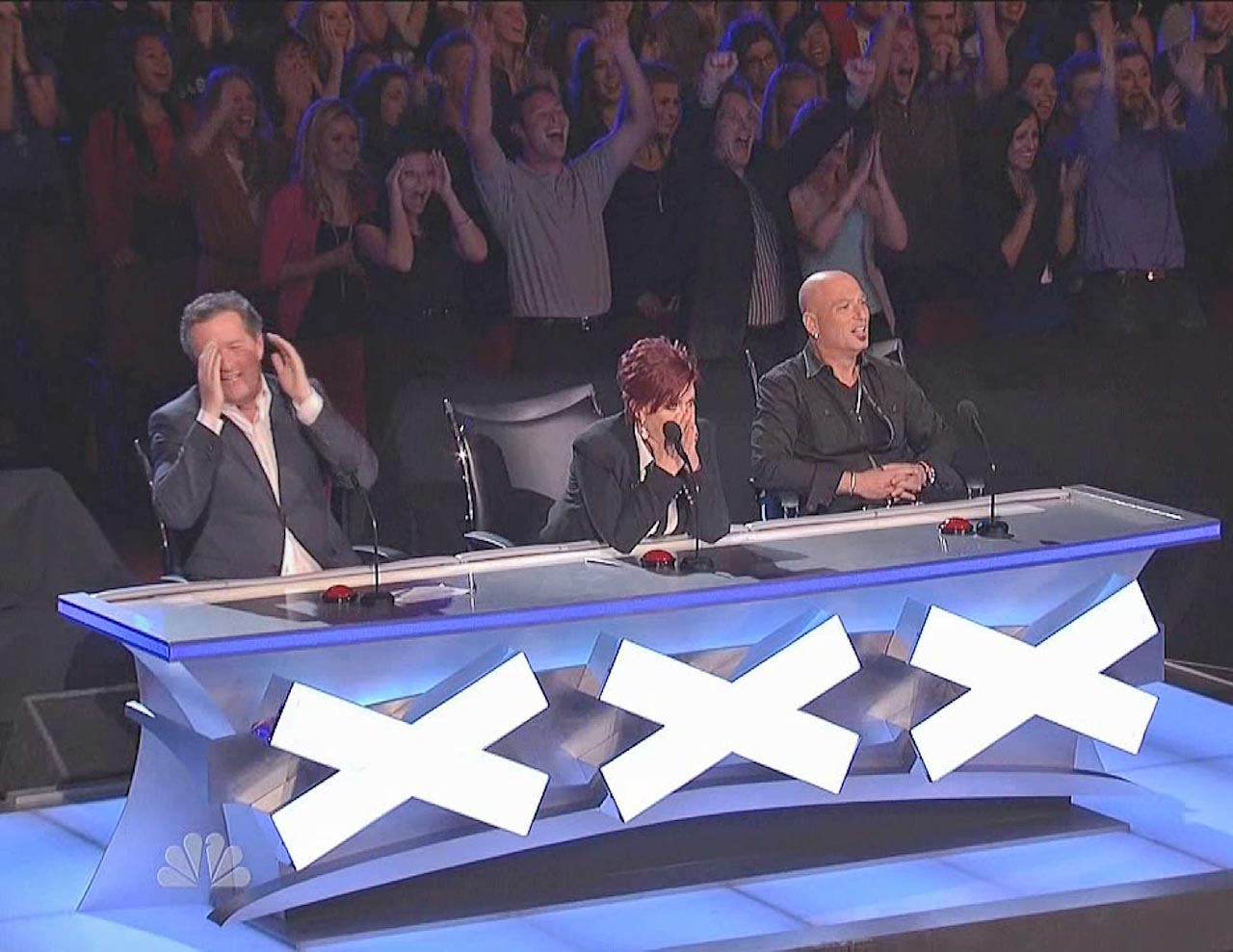 Frank Miles America's Got Talent Standing Ovation